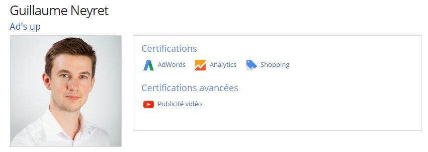 Consultant Google Adwords