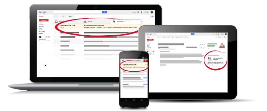 GSP sur Ordinateur mobile et tablette