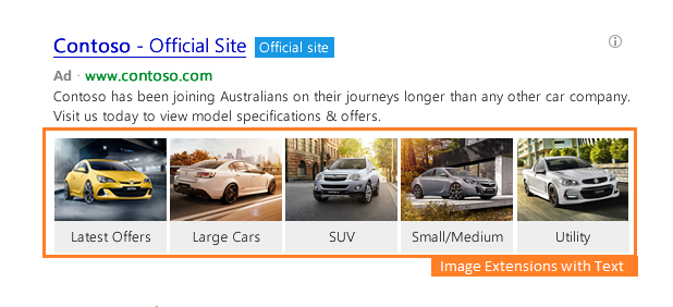 Extension Texte Image Bing Linkedin Dynamic Ads Campaign Manager