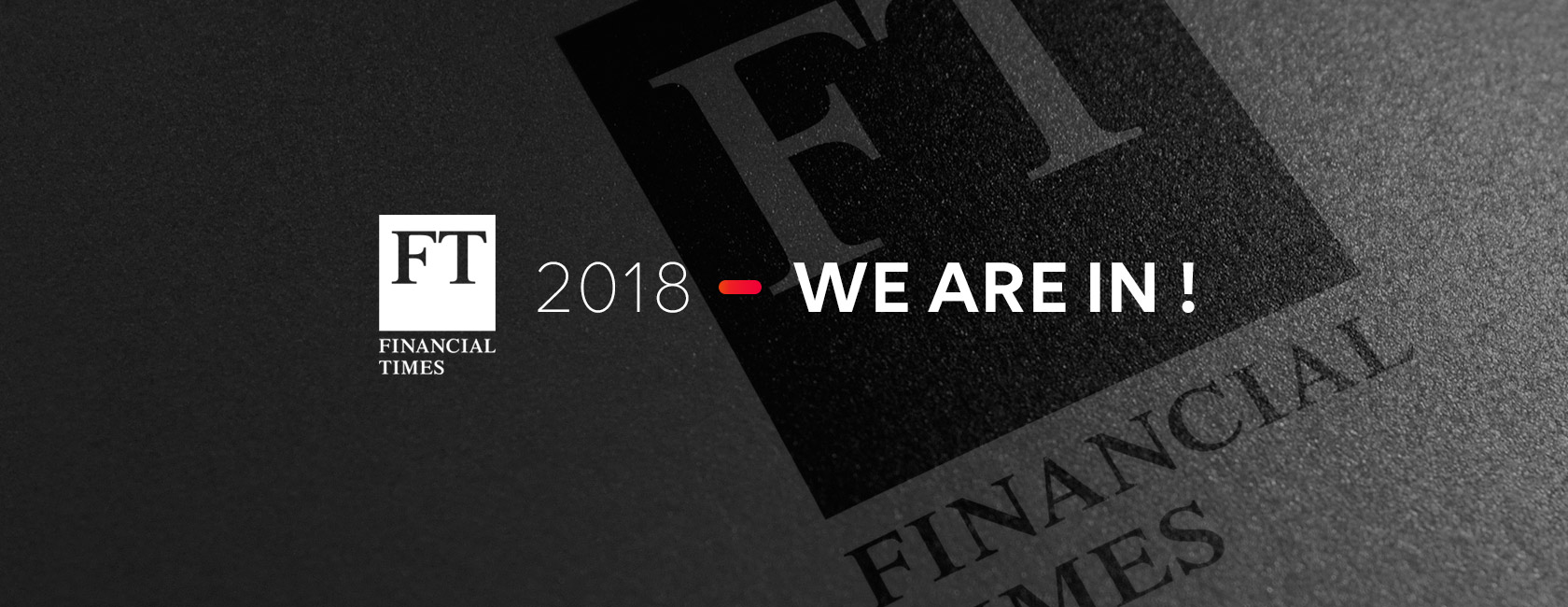 FT 1000 : Europe's Fastest Growing Companies 2018