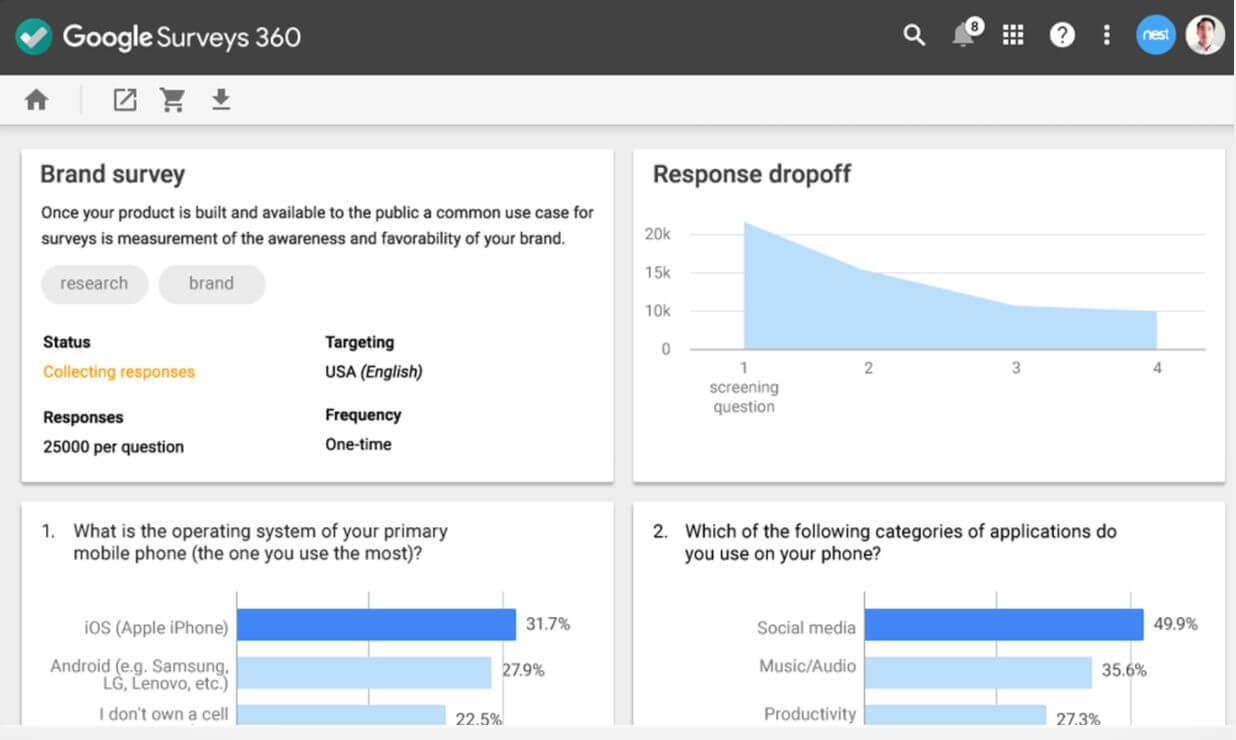 google-surveys-360
