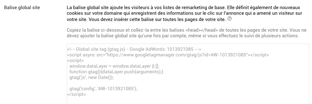 Conversion AdWords