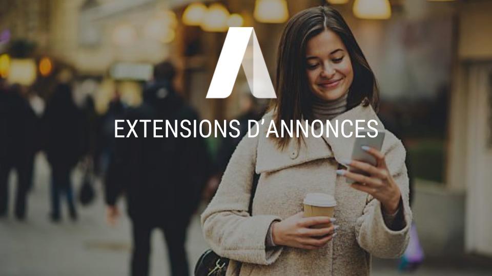 extensions d'annonces