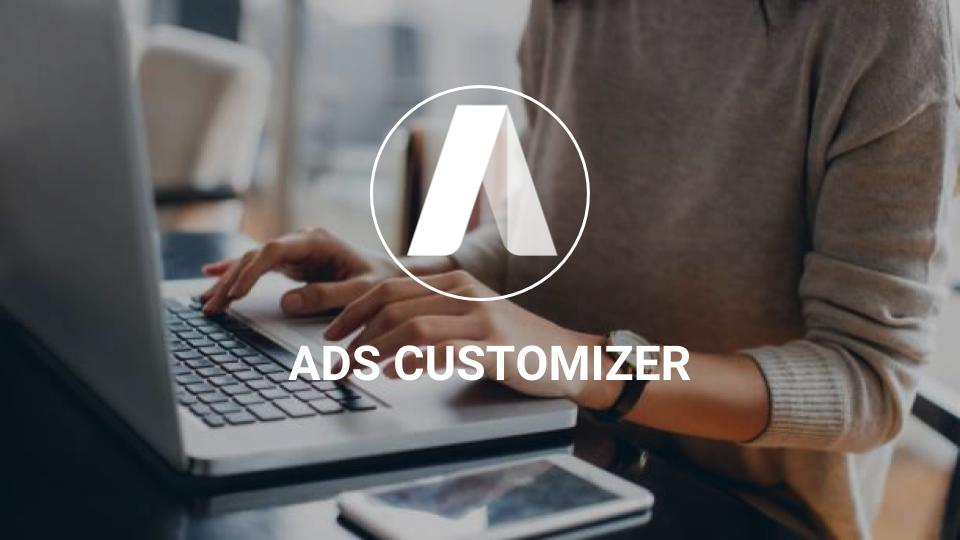 ads customizer