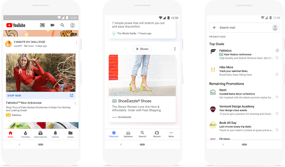 Annonces Google Discovery Ads